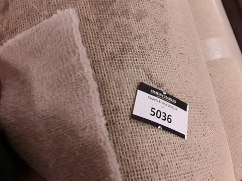Lot 5036 ROLL OF CLASSIC TWIST GYPSUM/OFF WHITE CARPET APPROXIMATELY 40M X 4M