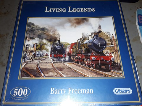 Lot 516 500 PEACE JIGSAW PUZZLE  ) LIVING LEGENDS