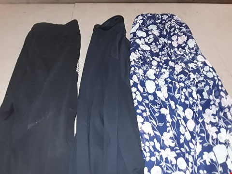 Lot 9405 4 BOXES OF APPROXIMATELY 126 ASSORTED CLOTHING ITEMS INCLUDING BLACK TIP POLO SHIRT, FLORAL PRINT WRAP TUNIC AND BLACK NYC JOGGING BOTTOMS