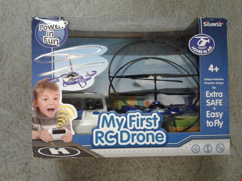 Lot 1569 BOXED GRADE 1 SILVERLIT MY FIRST RC DRONE  RRP £44.99