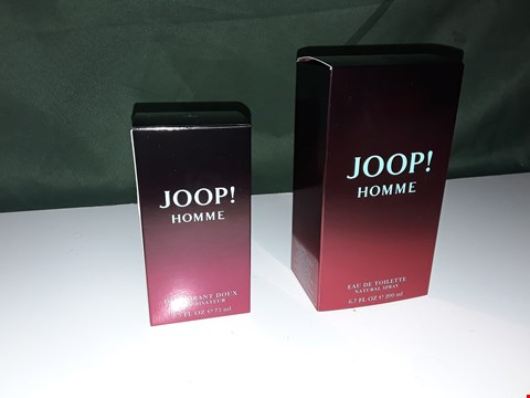 Lot 363 JOOP! HOMME EAU DE TOILETTE 200ML WITH DEODORANT