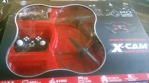 Lot 1045 BOXED REMOTE CONTROL X CAM QUADCOPTER
