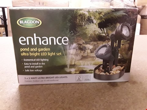 Lot 10078 BLAGDON LED POND AND GARDEN LIGHT (5 PIECES)