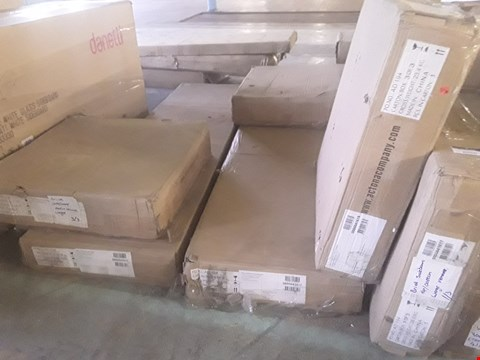 Lot 322 6 BOXES OF BRICK SIDEBOARD PARTS