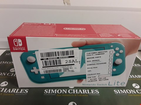 Lot 1274 NINTENDO SWITCH LITE TURQUOISE CONSOLE