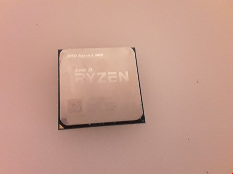 Lot 4282 AMD RYZEN 5 2600 PROCESSOR