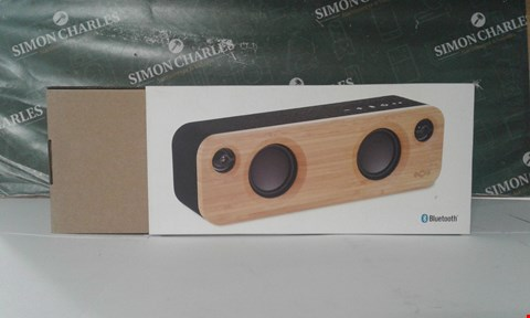 Lot 17071 BOXED MARLEY GET TOGETHER MINI PORTABLE BLUETOOTH AUDIO SYSTEM