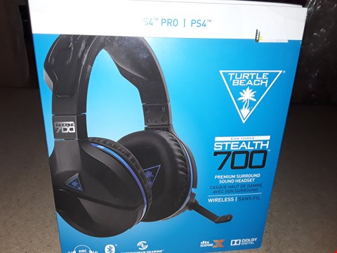 Lot 88 BRAND NEW BOXED TURTLE BEACH EAR FORCE STEALTH 700 PREMIUM SURROUND SOUND HEADSET