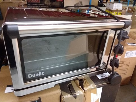 Lot 9562 DUALIT 18L MINI OVEN