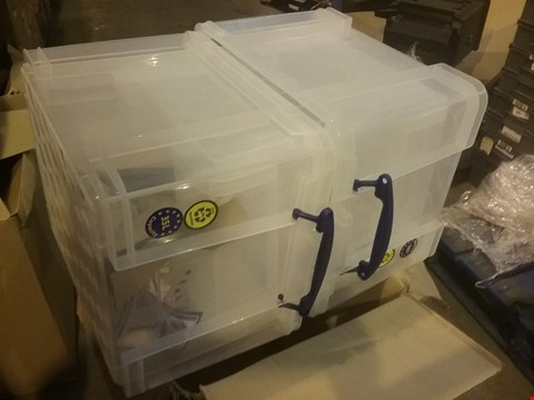 Lot 4088 REALLY USEFUL STORAGE BOXES