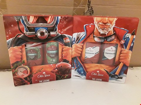 Lot 1829 2 BOXED OLD SPICE GIFT SETS