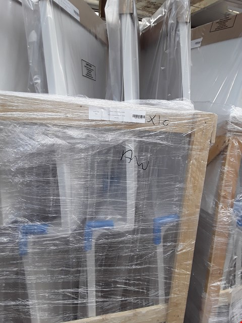 Lot 13564 PALLET OF APPROXIMATELY 10 BRAND NEW 1675MM L-SHAPED BATH FRONT PANELS - WHITE