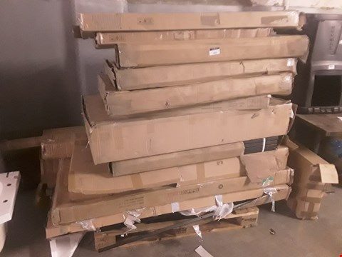 Lot 1082 PALLET OF APPROXIMATELY 16 FLSTPACK FURNITURE & BED PARTS