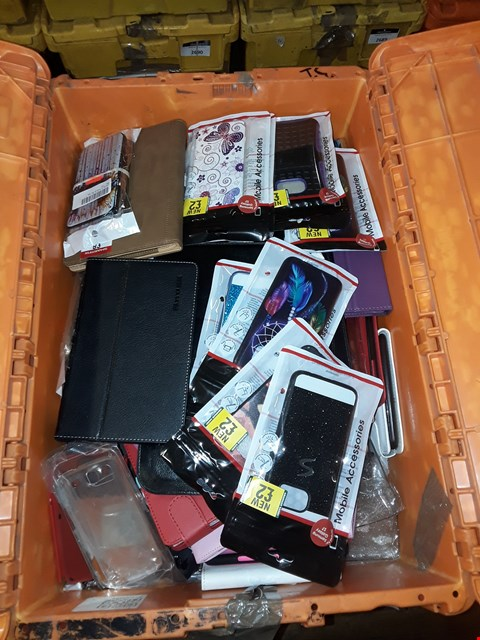 Lot 228 2 BOXES OF ASSORTED BRAND NEW MOBILE PHONE CASES (BOXES NOT INCLUDED)