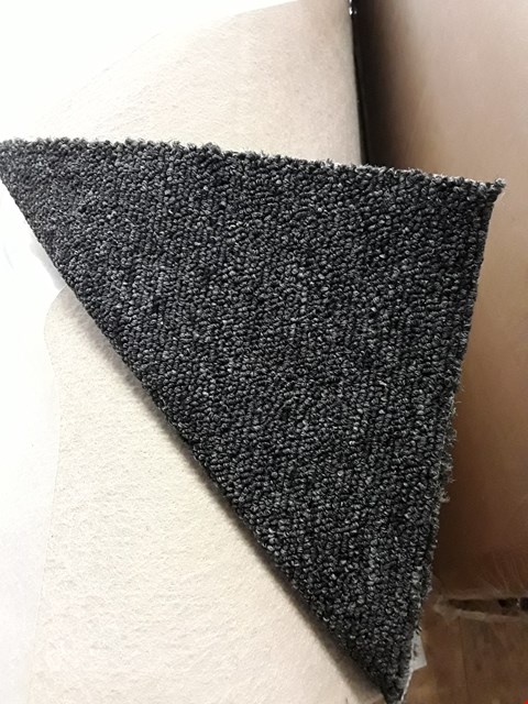 Lot 285 ROLL OF CHARCOAL CARPET 4M × SIZE UNSPECIFIED