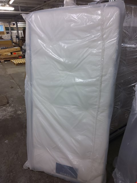 Lot 2102 QUALITY BAGGED FOGARTY TRADITIONAL OPEN COIL LARGE SINGLE MATTRESS