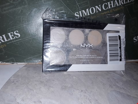 Lot 14501 NYX PROFESSIONAL MAKEUP HIGHLIGHT & CONTOUR PRO PALETTE RRP £18.00
