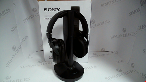 Lot 17153 SONY MDR-RF895R WIRELESS OVERHEAD DIGITAL HEADPHONES