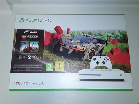 Lot 2038 XBOX ONE S - 1TB CONSOLE WHITE RRP £439.99