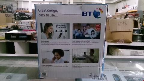 Lot 1416 BOXED BT 6600 NUISANCE CALL BLOCKER TRIO CORDLESS HOME PHONE  RRP £120.00