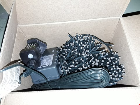 Lot 2498 BRAND NEW BOXED SET OF 500 SPARKLE LIGHTS COOL WHITE RRP £49.99