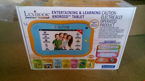 Lot 3479 A BOXED D LEXIBOOK JUNIOR TABLET  RRP £150.00