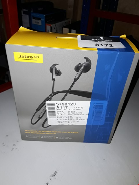 Lot 8172 JABRA ELITE 65E EARPHONES