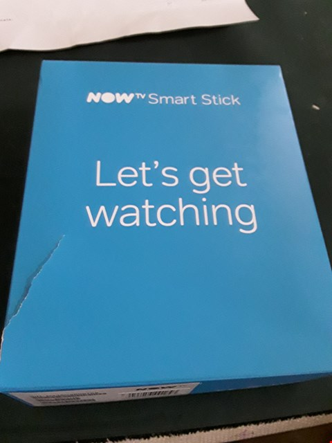 Lot 18006 NOW TV SMART STICK WITH HD & VOICE SEARCH RRP £24.99
