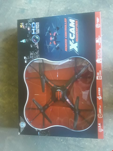 Lot 1094 X-CAM REMOTE CONTROLLED FLYING DRONE WIT