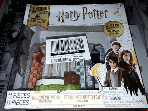 Lot 5042 HARRY POTTER PLAYSETS - QUIDDITCH ARENA RRP £19.99