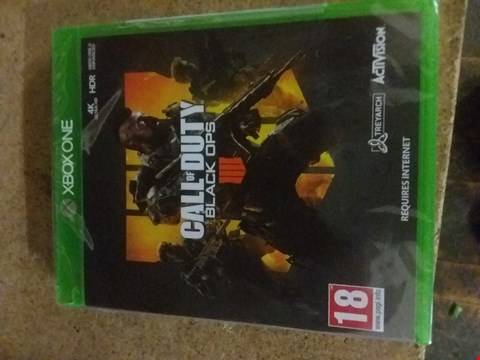 Lot 2561 CALL OF DUTY BLACK OPS FOR XBOX ONE