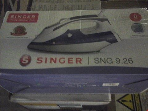 Lot 1081 BOXED SINGER STEAM IRON