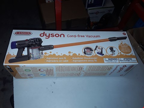 Lot 4093 DYSON CORD FREE TOY VACUUM CLEANER