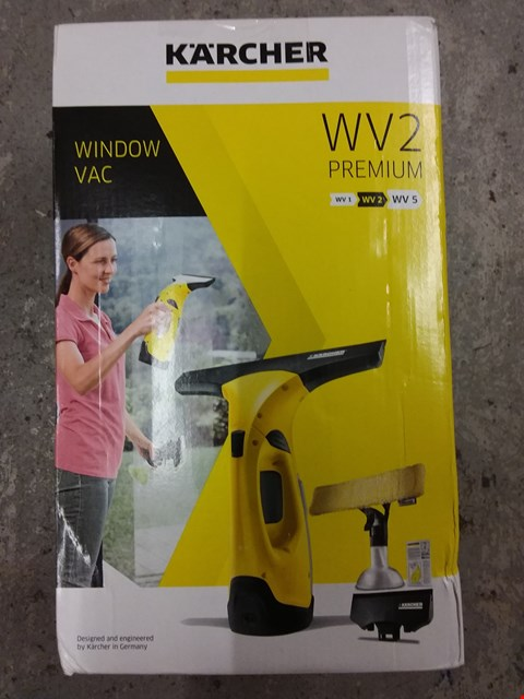 Lot 8371 KARCHER WV2 PREMIUM WINDOW VAC