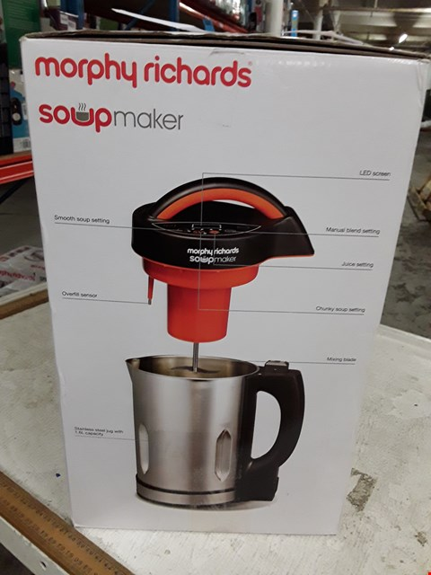 Lot 8388 MORPHY RICHARDS SOUP MAKER