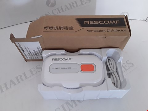 Lot 113 BOXED RESCOMF VENTILATION DISINFECTOR