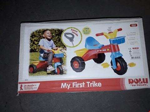 Lot 7671 GRADE 1 MY FIRST TRIKE  RRP £31.99