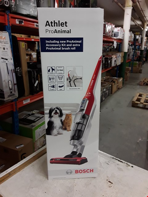 Lot 3027 BOSCH ATHLET PRO ANIMAL VACUUM CLEANER