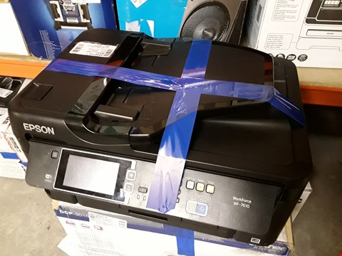 Lot 411 EPSON WORKFORCE WF-7715DWF PRINTER