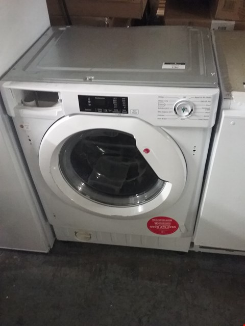 Lot 3167 HOOVER WHITE BUILT IN WASHING MACHINE RRP £447