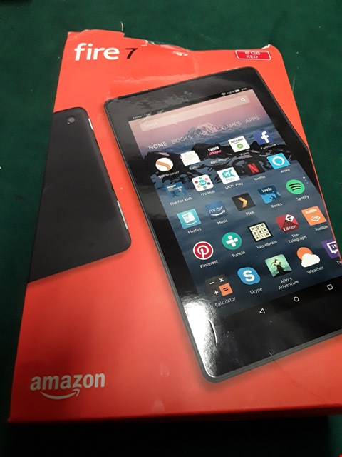 "Lot 1040 AMAZON FIRE 7"" 8GB TABLET - RED RRP £65"