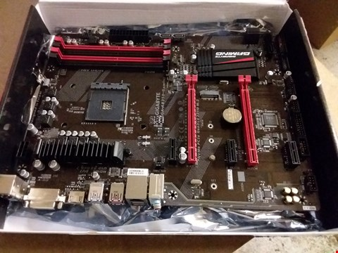 Lot 25 GIGABYTE AB350 GAMING AMD MOTHERBOARD