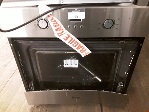 Lot 98 SWAN SXB70110SS SINGLE ELECTRIC OVEN  RRP £224.99