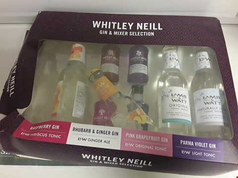 Lot 1373 WHITLEY NEIL GIN & MIXER SELECTION