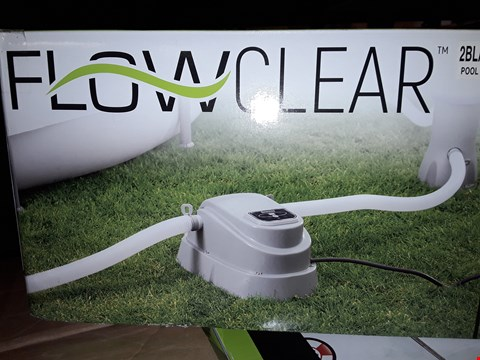Lot 3362 BESTWAY FLOWCLEAR POOL HEATER RRP £119.99