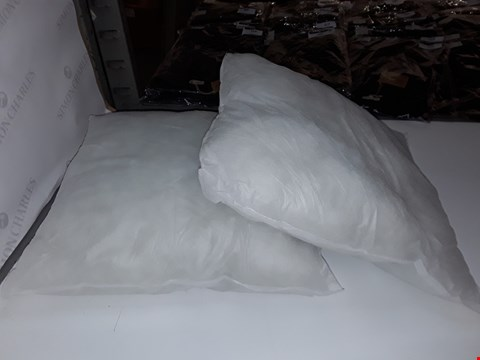 Lot 5362 2 SQUARE CUSHIONS (NO CASES)