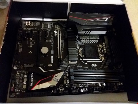 Lot 16 GIGABYTE Z390 GAMING X SOCKET 1151 MOTHERBOARD