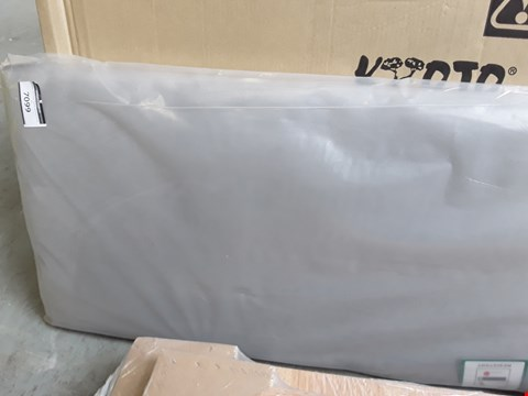 Lot 11 BAGGED DOUBLE GREY FABRIC HEADBOARD