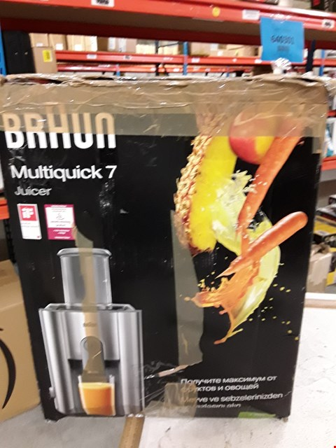 Lot 3034 BRAUN MULTIQUICK 7 JUICER
