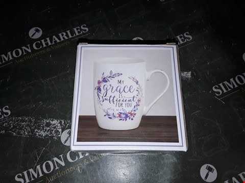 Lot 773 MY GRACE IS SUFFICIENT FOR YOU MUG
